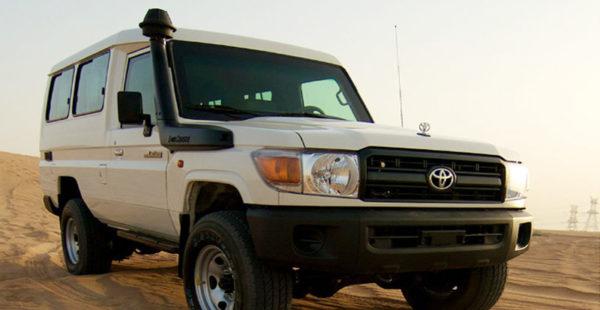 Toyota Land Cruiser GRJ 78, MY17 B6 Armored