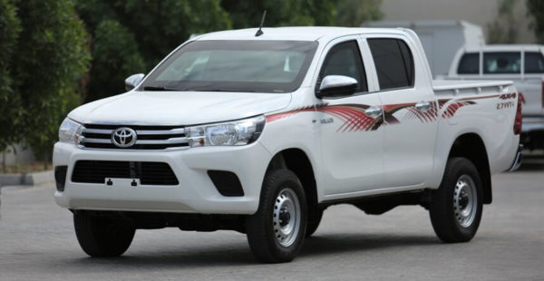 Toyota Hilux GL Double Cabin MY17 B6 Armored