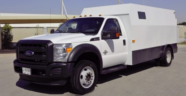 Ford F550 Cash in Transit B6 Armoured