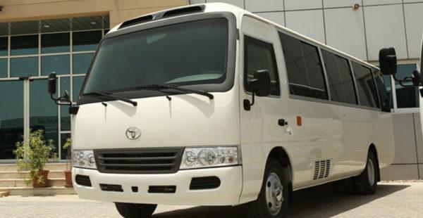 Toyota Coaster B6 Armored 4.2L Diesel Bus