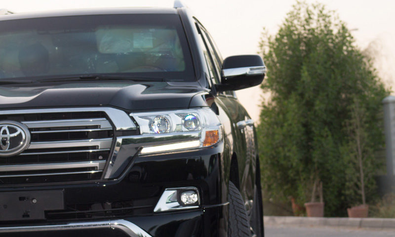 Toyota Land Cruiser GXR, MY17 B6 Armored