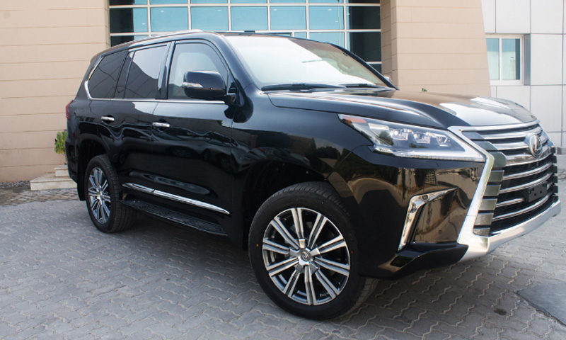 Lexus LX570 Platinum, MY17 B6 Armored