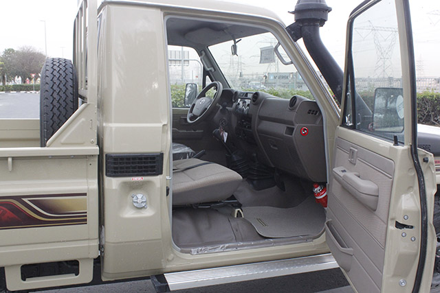 Toyota Land Cruiser VDJ 79, Single Cabin, MY17
