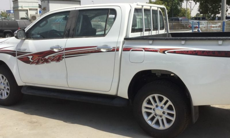 TOYOTA HILUX 2.4L DIESEL DLS DOUBLE CABIN 4×4 MY17