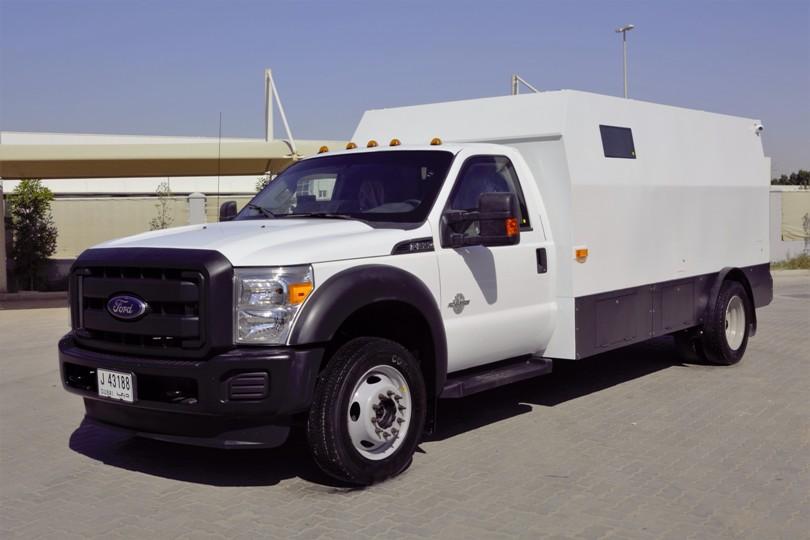 Ford F550 Cash In Transit B6 Armoured Dazzle Uae