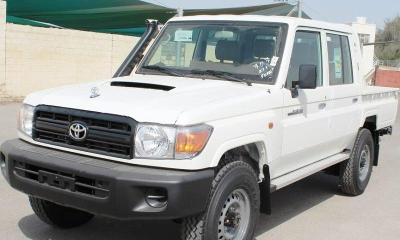 Toyota Land Cruiser VDJ 79, Double Cabin, MY17