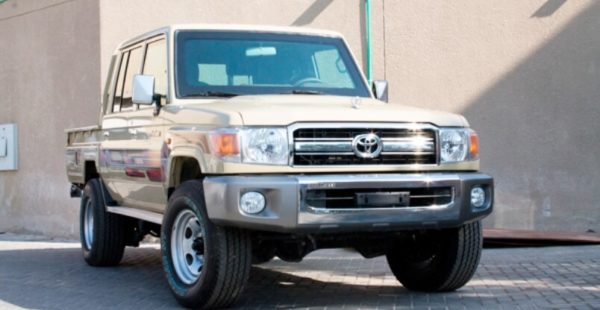 Toyota Land Cruiser 79 Double Cabin B6 Armored