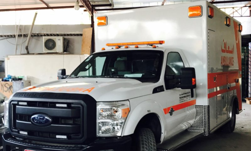 Ford Super Duty F350 Ambulance