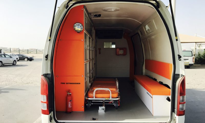 Toyota Hiace  2.7L Petrol High Roof Ambulance