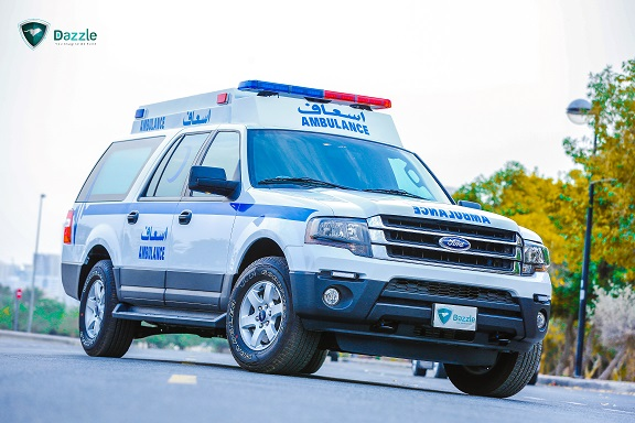 Ford Expedition El 3 5l Petrol 4x4 Extended Roof Ambulance