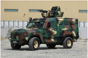 armored vehicles in UAE