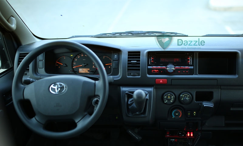 Toyota Hiace High Roof, 2.5L Diesel, MY18
